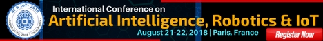 Artificial Intelligence, ioT Robotics conferences